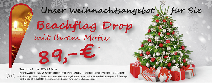 Beachflag Drop Angebot