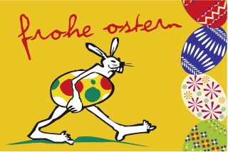 Ereignisfahne Ostern 2.2.1. quer
